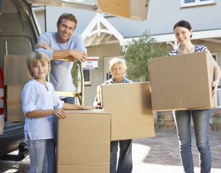 33569903 - family moving house